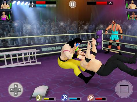 Tag Team Wrestling Game 2020: Cage Ring Fighting screenshot 10