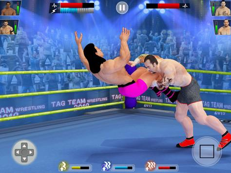 Tag Team Wrestling Game 2020: Cage Ring Fighting screenshot 19