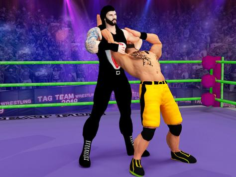 Tag Team Wrestling Game 2020: Cage Ring Fighting screenshot 20