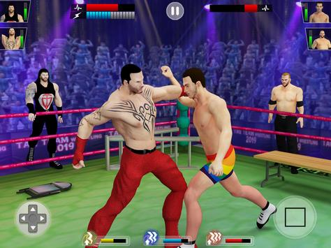 Tag Team Wrestling Game 2020: Cage Ring Fighting screenshot 21