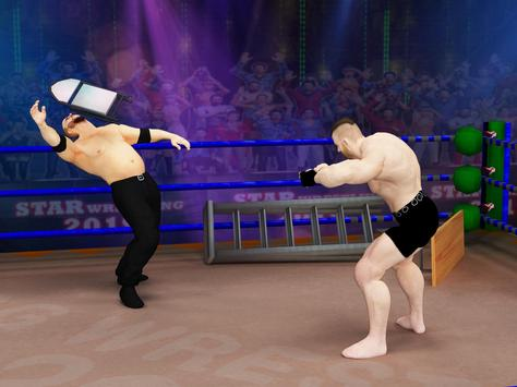 Tag Team Wrestling Game 2020: Cage Ring Fighting screenshot 22