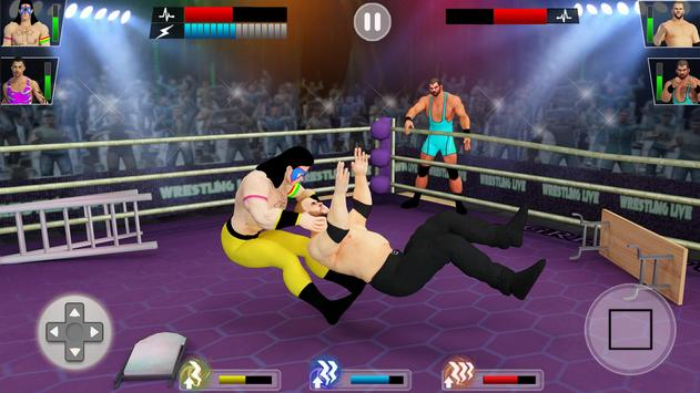 Tag Team Wrestling Game 2020: Cage Ring Fighting screenshot 2