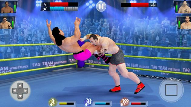 Tag Team Wrestling Game 2020: Cage Ring Fighting screenshot 3