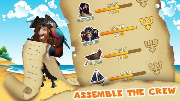 Pirate Henry Four Fingers. Clicker games screenshot 7