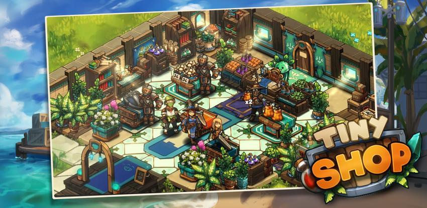 Tiny Shop: Cute Fantasy Craft, Design & Trade RPG APK