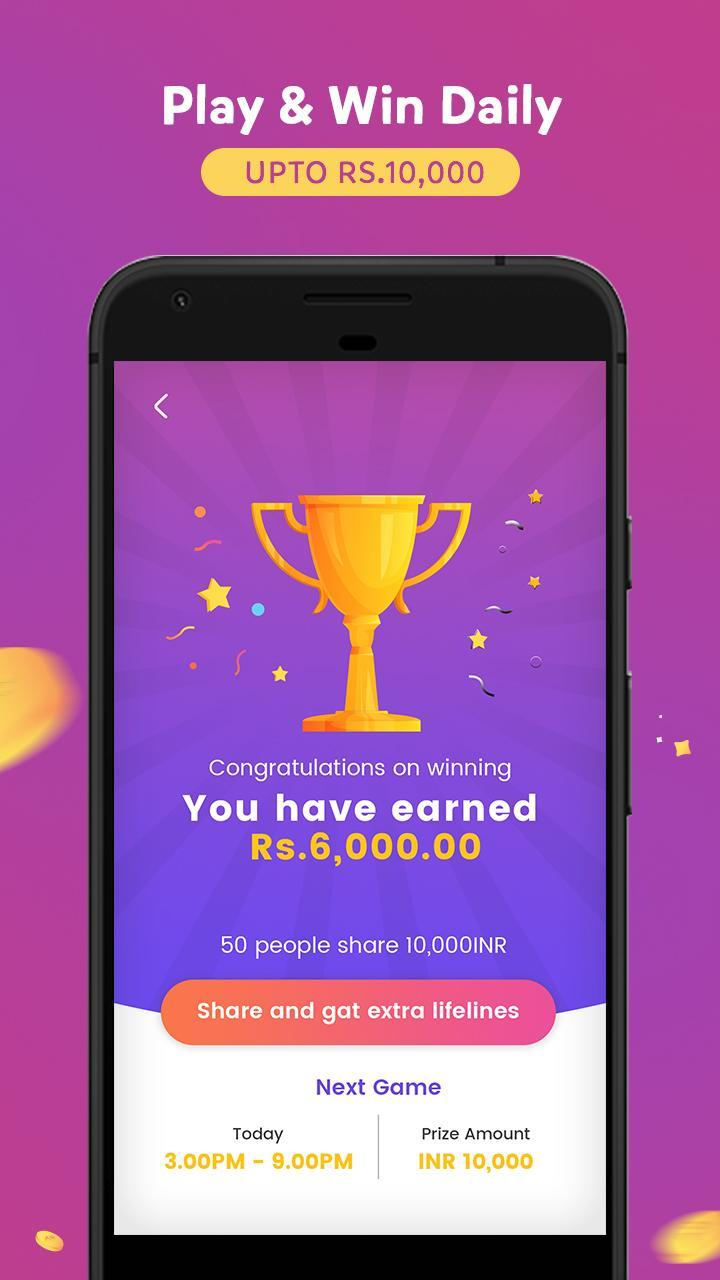 GameShow - Live Quiz Game App to Earn money online for