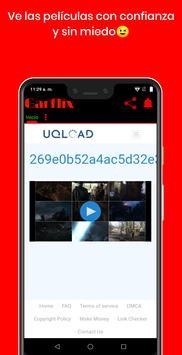 Garflix captura de pantalla 1