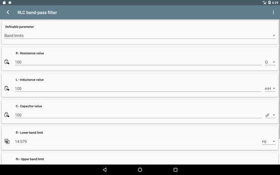 Filter Calculator screenshot 6