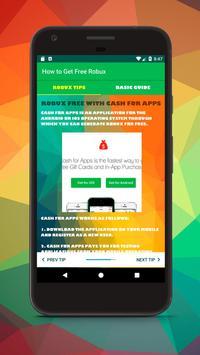 Robux Free Now - Cara Menangkan Robux Gratis 2018 screenshot 5