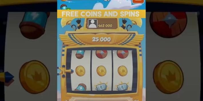 Free Spins Coins Links poster