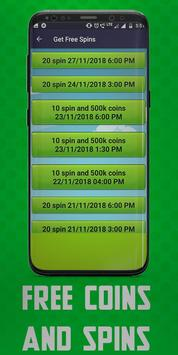 Free Spins Coins Links screenshot 2