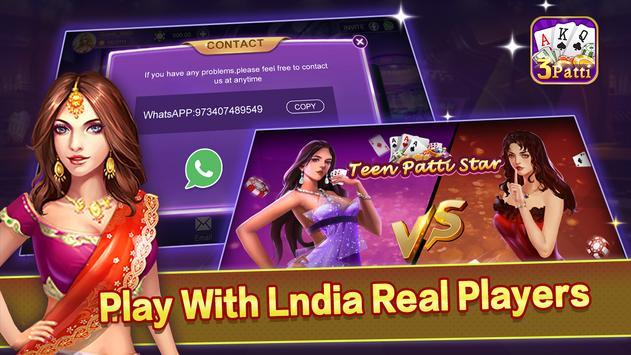 Teen Patti Star - Online teen patti cards game0