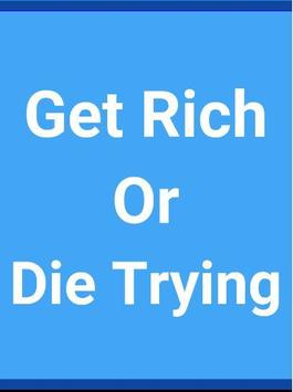 Get rich or die trying poster
