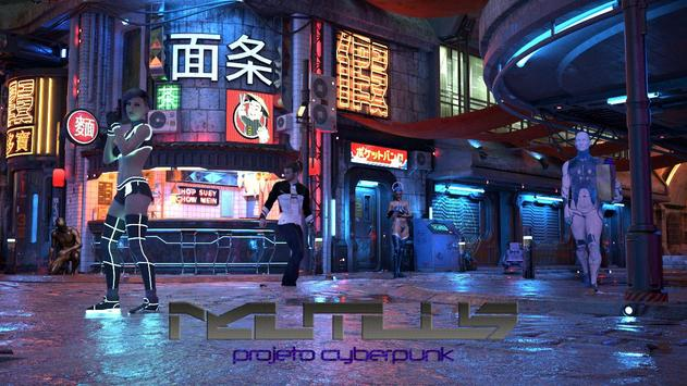 Nautilus: Projeto Cyberpunk poster