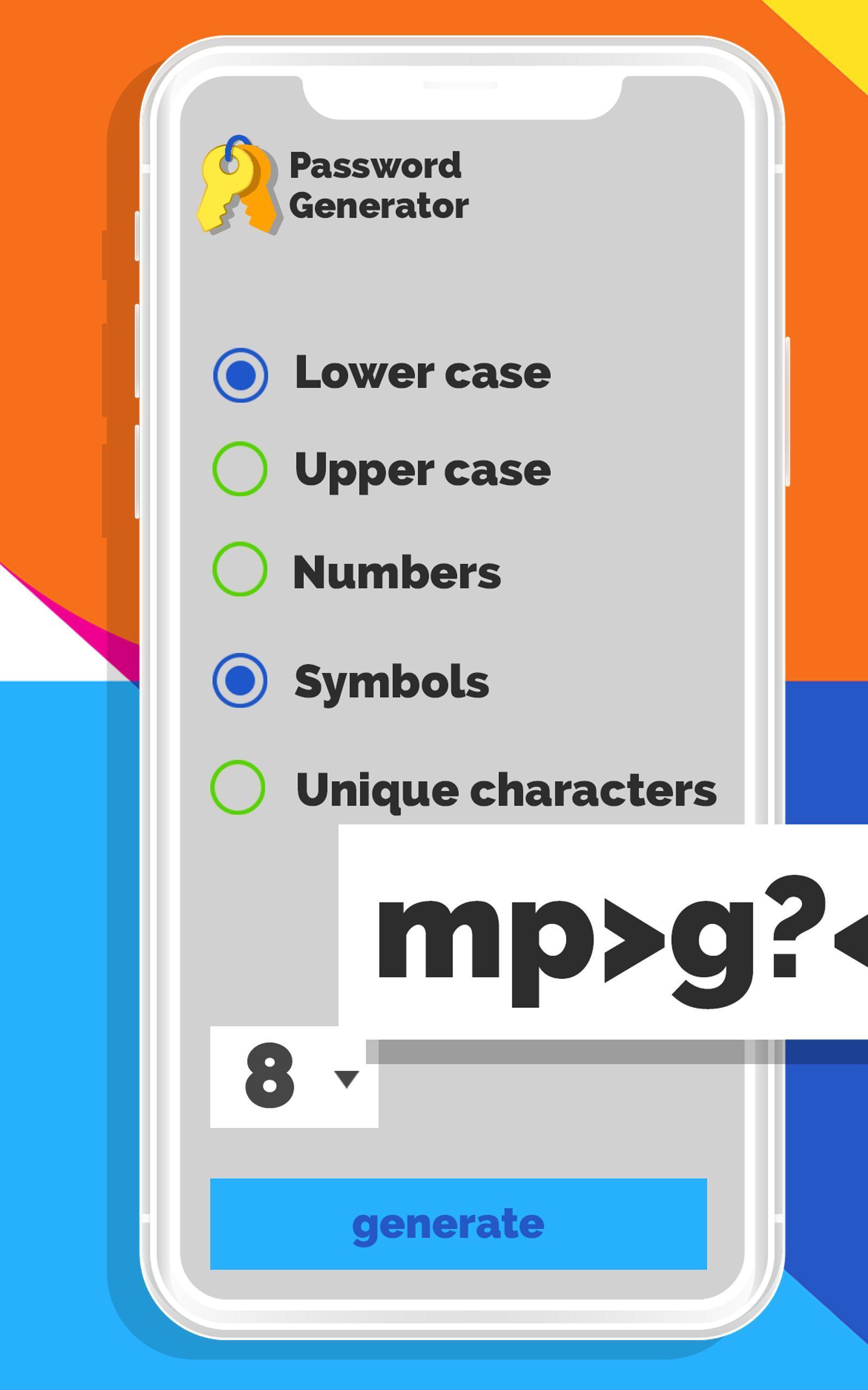 Random Number & Password Generator for Android - APK Download