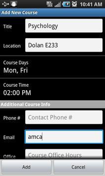 Assignment Planner FREE screenshot 4