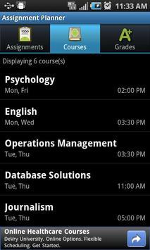 Assignment Planner FREE screenshot 3