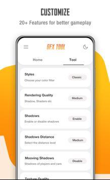 GFX Tool for PUBG - Game Launcher & Optimizer screenshot 1
