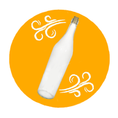 Bottle of desire | Party game icon
