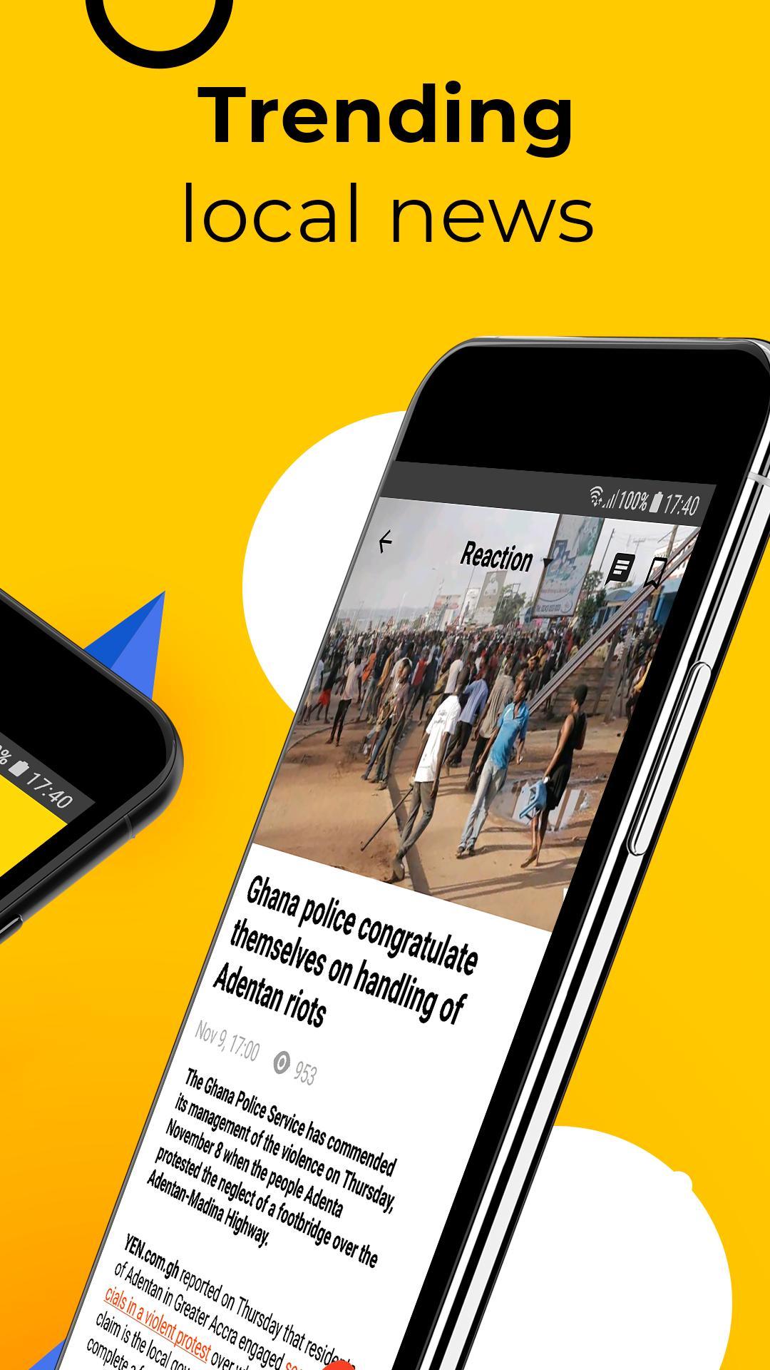 Ghana News: YEN Breaking & Trending News App for Android - APK Download