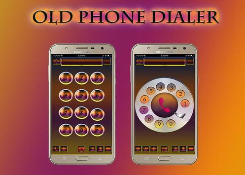 Old Phone Dialer poster