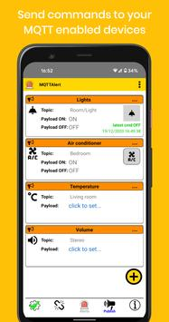 MQTT Alert: Phone notifications for IOT events captura de pantalla 4