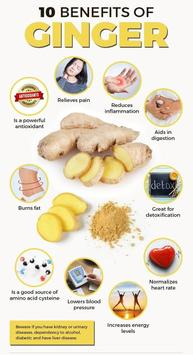 Benefits and Uses of Ginger screenshot 1