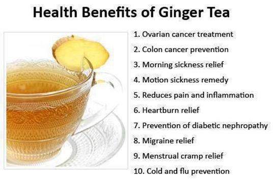 Benefits and Uses of Ginger screenshot 3