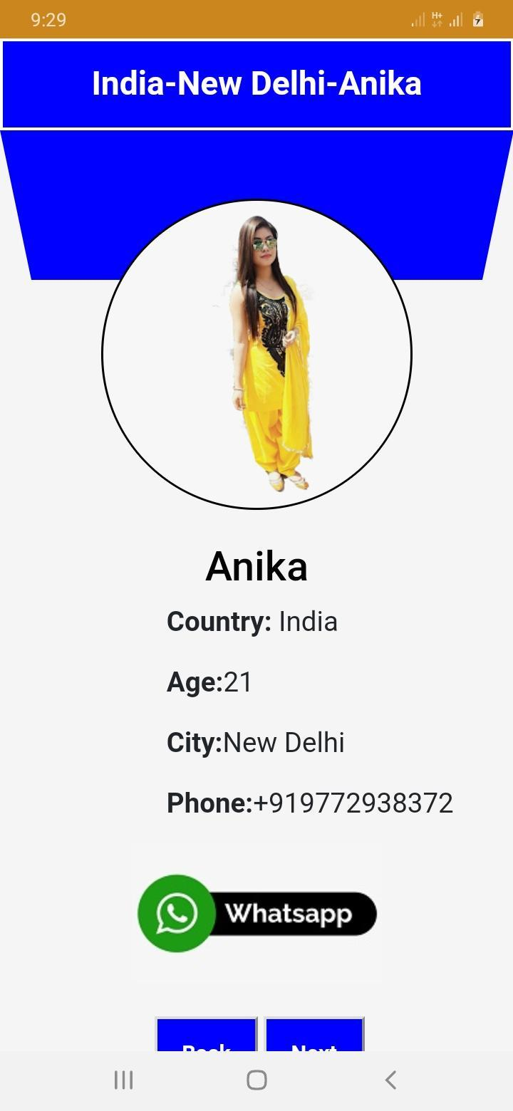 Girl chatting mobile number call Top Phone
