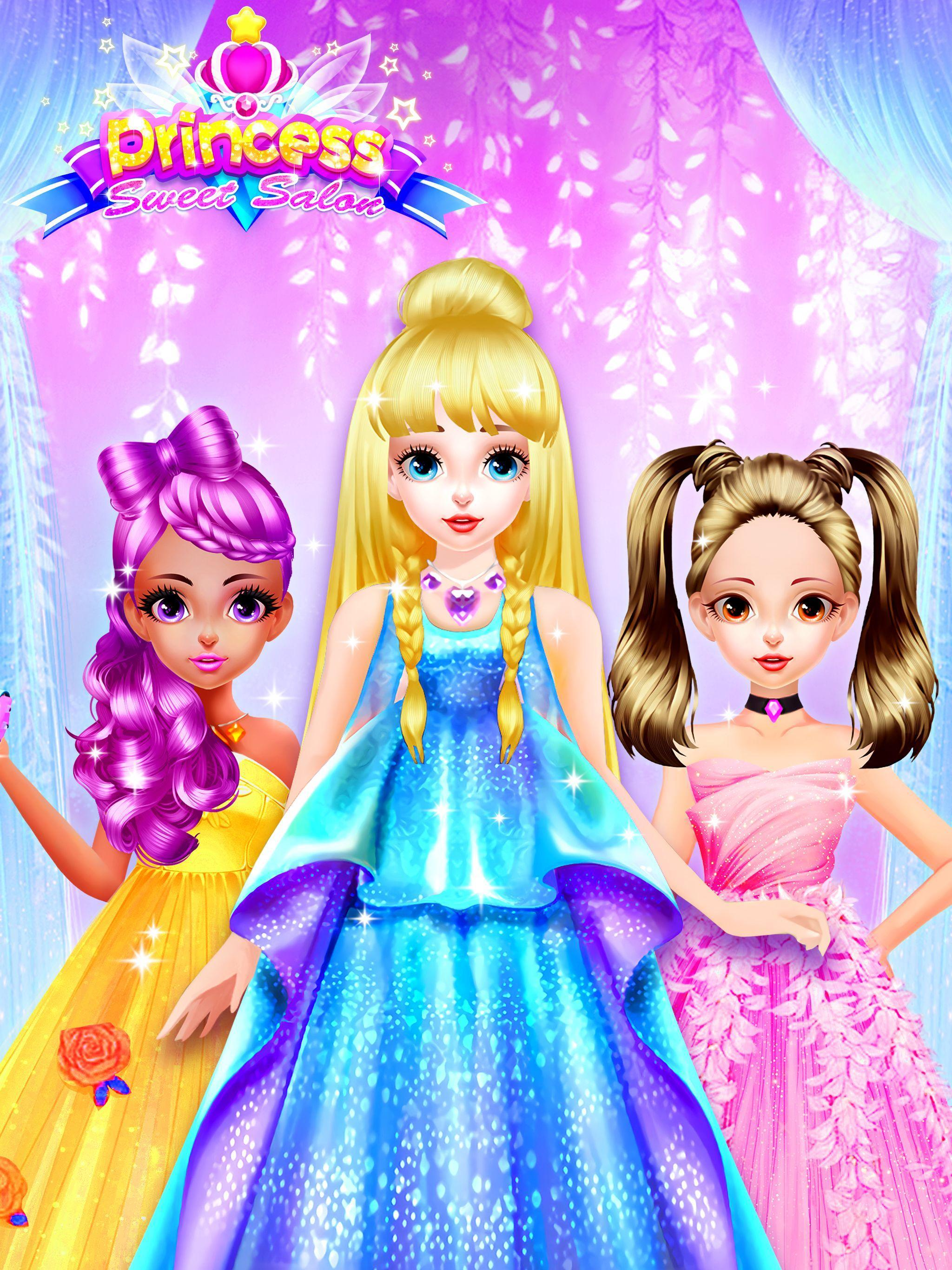 Princess Dress Up Games Princess Fashion Salon For Android Apk Download