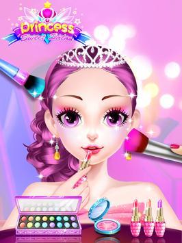 Princess Dress up Games - Princess Fashion Salon screenshot 2
