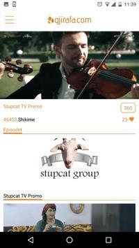 Gjirafa.com screenshot 1
