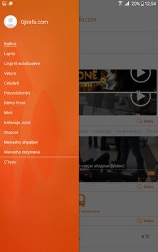 Gjirafa.com screenshot 5