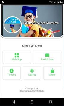 361 Dongeng Dan Cerita Anak Nusantara, Indonesia screenshot 1