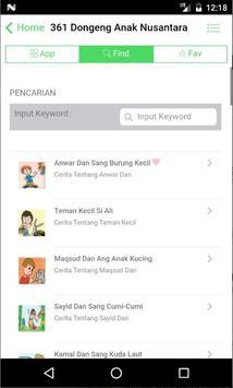 361 Dongeng Dan Cerita Anak Nusantara, Indonesia screenshot 3