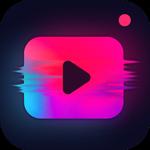 Editor de Vídeo - Efeito Glitch e Foto Música APK