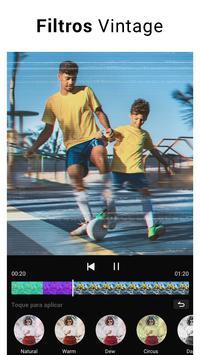 Editor de Vídeo - Fazer vídeo com foto e música imagem de tela 4