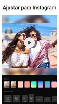 Editor de Vídeo - Fazer vídeo com foto e música imagem de tela 5