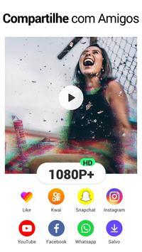 Editor de Vídeo - Fazer vídeo com foto e música imagem de tela 6