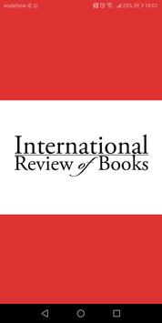 The International Review of Books poster