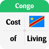 Cost of Living in Congo icon