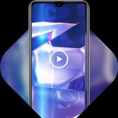 Glossy mirror live wallpaper icon