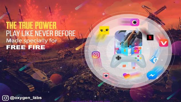 game booster Freefire poster