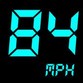 Icona GPS Tachimetro :odometro velocità dell'inseguitore