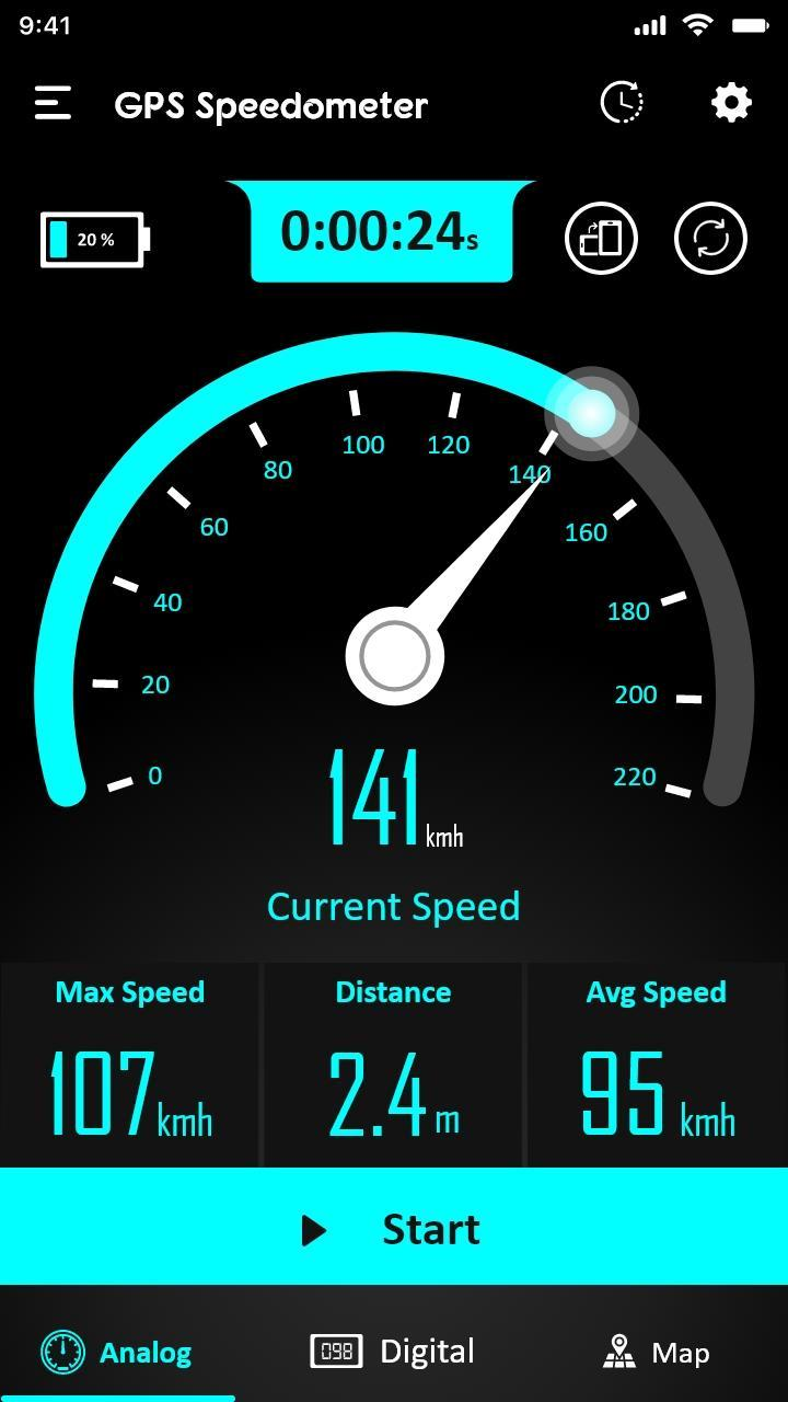 free gps speedometer app for android