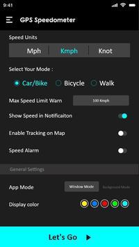 GPS Speedometer : Odometer and Speed Tracker App screenshot 3