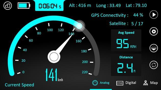 GPS Speedometer : Odometer and Speed Tracker App screenshot 4
