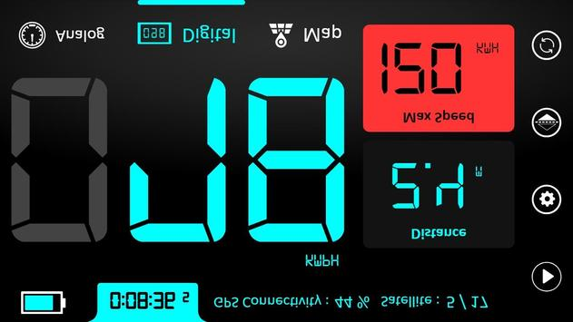 GPS Speedometer : Odometer and Speed Tracker App screenshot 6