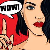 Comica - pasa las fotos a los comics icono