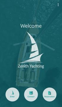 Zenith Yachting poster
